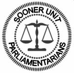 Seal of the Sooner Unit Parliamentarians